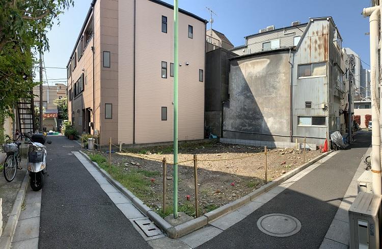 A image of 江東区白河3丁目売地