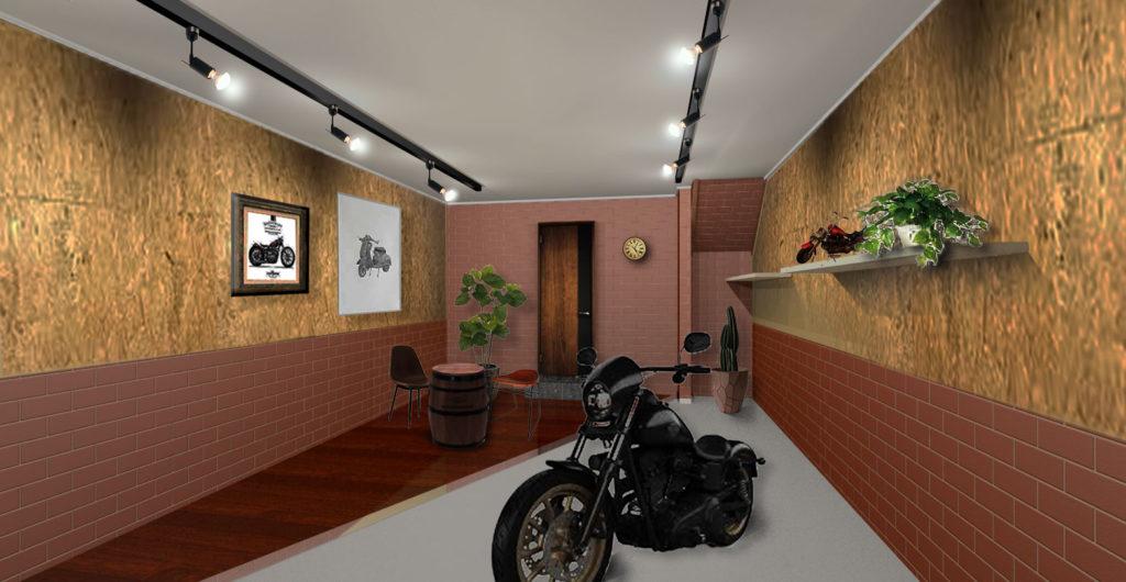 A image of 鷹の台バイクガレージハウス