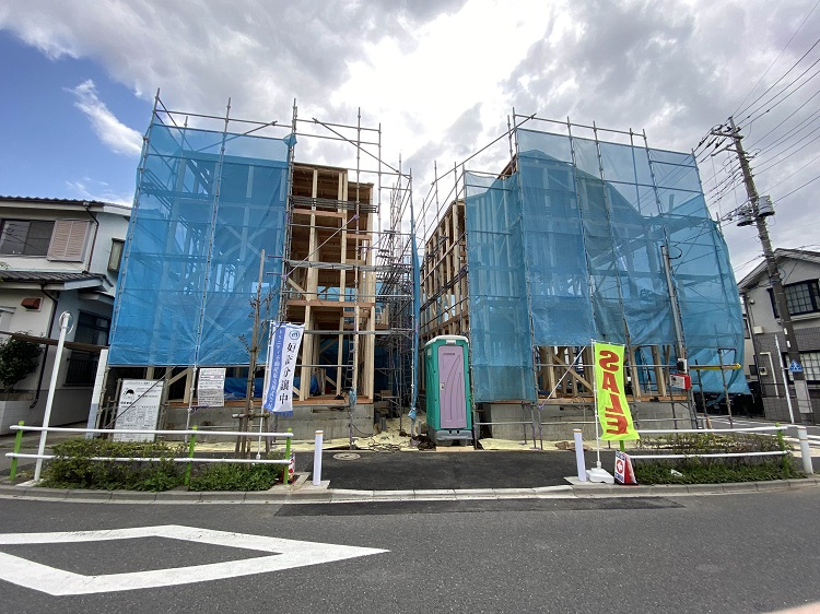A image of 板橋区高島平5丁目新築分譲住宅2棟